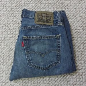 Levi Strauss Mens Jeans W30 L32 med Stone Wash 501